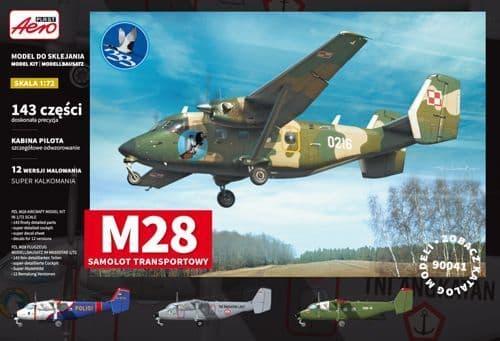 Aeroplast 1/72 PZL M28 Skytruck Transport Aircraft # 90041