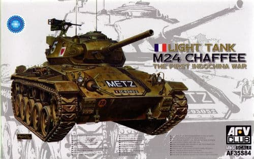 AFV 1/35 M24 Chaffee Light Tank French Army The First Indochina War # 35S84