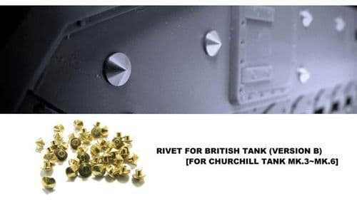 AFV Club 1/35 Brass Rivets for Churchill Mk.III/VI # AG35021