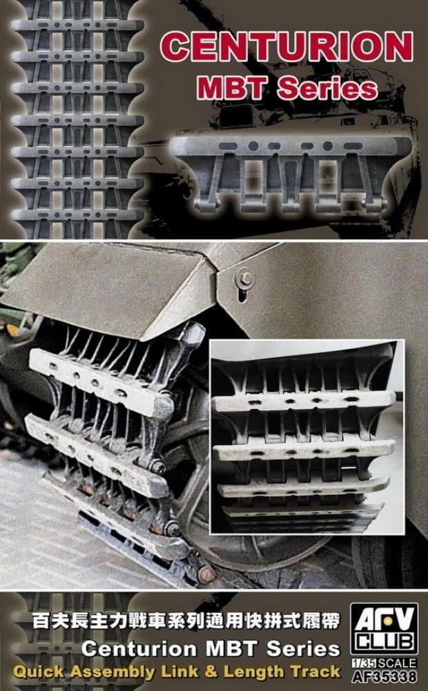AFV Club 1/35 Centurion MBT Series Quick Assembly Link & Length Track # AF35338