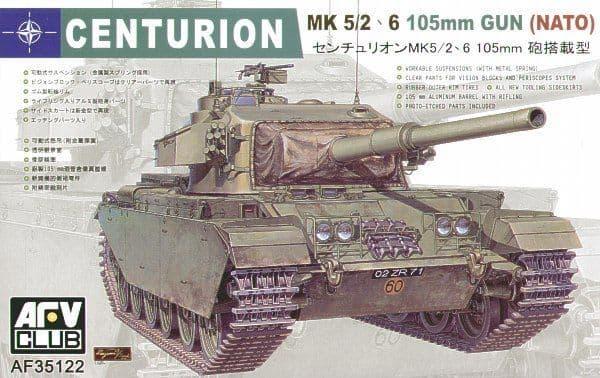 AFV Club 1/35 Centurion Mk 5/2 105mm Gun NATO # AF35122