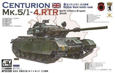 AFV Club 1/35 Centurion MK.5/1-4.RTR # 35328