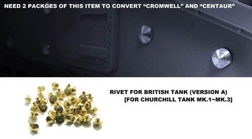 AFV Club 1/35 Churchill Mk.I to Mk.III Rivets Version A # AG35020