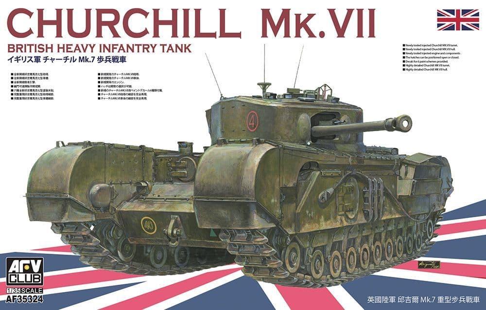 AFV Club 1/35 Churchill Tank Mk VII # AF35324