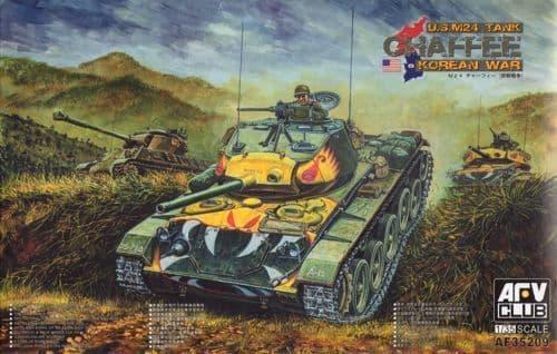 AFV Club 1/35 M24 Chaffee Tank US Army Korean War  # 35209