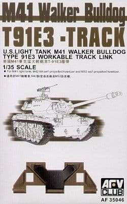 AFV Club 1/35 M41 Walker Bulldog T91E3 Workable Track # 35046