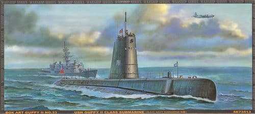 AFV Club 1/350 Guppy II U.S. Navy Submarine # 73513