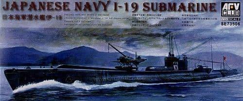 AFV Club 1/350 I-19 Japanese Submarine # SE73506