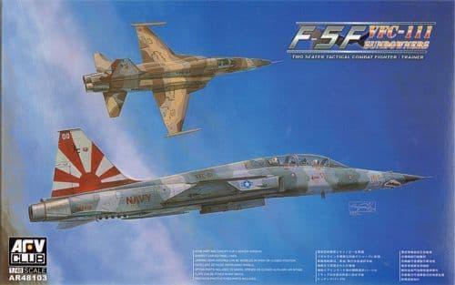 AFV Club 1/48 F-5F Tiger II VFC-111 Sundowners # AR48103