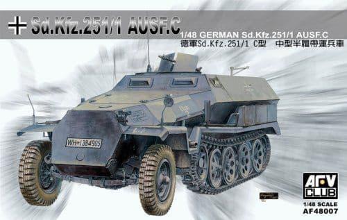 AFV Club 1/48 Sd Kfz 251/1 Ausf C - Half Track # 48007