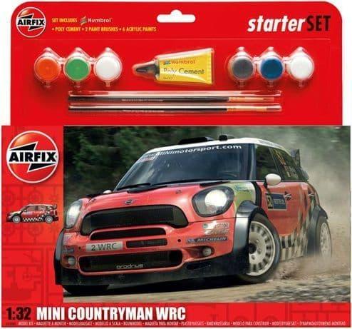 Airfix 1/32 Mini Countryman WRC Gift Set # 55304