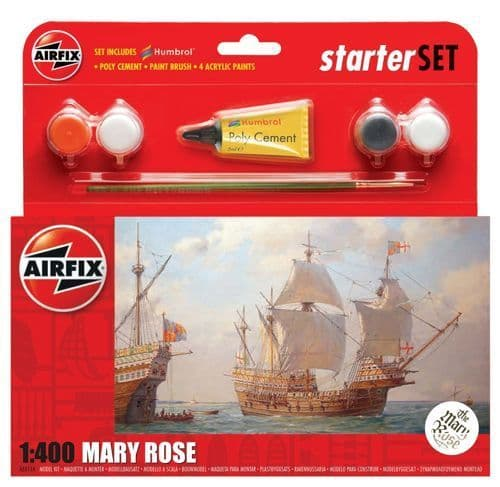 Airfix 1/400 Mary Rose Starter Set # A55114