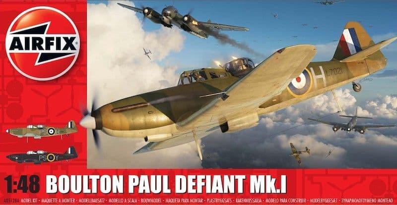 Airfix 1/48 Boulton-Paul Defiant Mk.I # A05128A