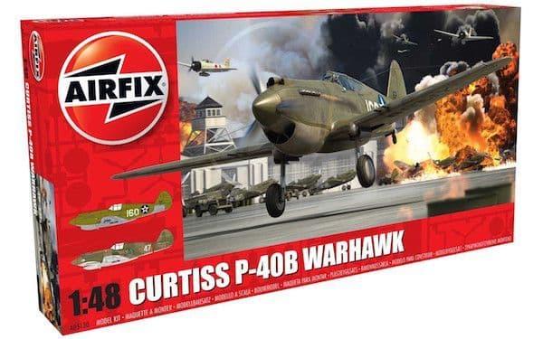 Airfix 1/48 Curtiss P-40B Warhawk # A05130