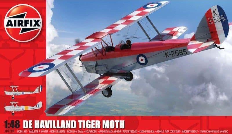Airfix 1/48 de Havilland DH.82a Tiger Moth *New Tooling* # A04104