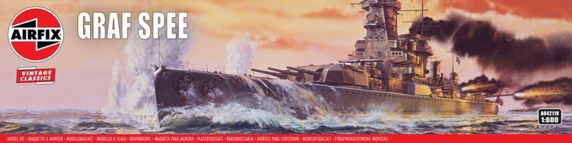 Airfix 1/600 Admiral Graf Spee # A04211V