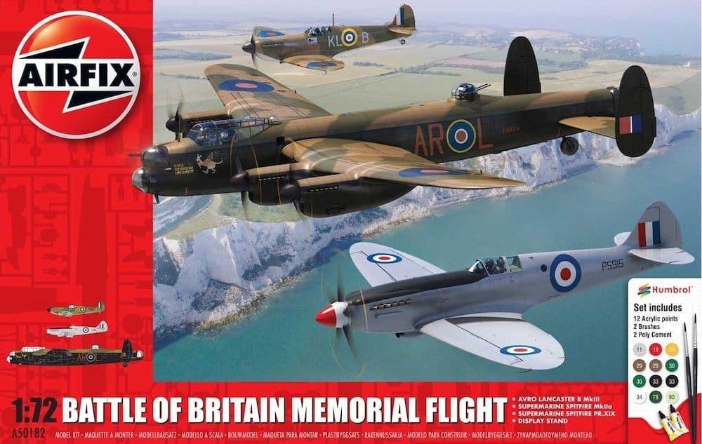 Airfix 1/72 Battle of Britain Memorial Flight Gift Set # A50182