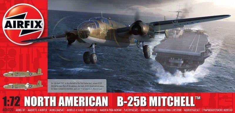 Airfix 1/72 North-American B-25B Mitchell # A06020