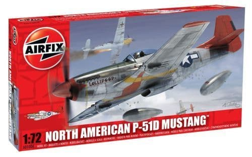 Airfix 1/72 North-American P-51D Mustang (New Tooling) # A01004
