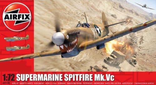 Airfix 1/72 Supermarine Spitfire Mk.Vc # A02108
