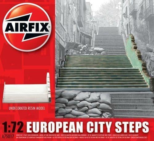 Airfix 1/76 European City Steps # A75017