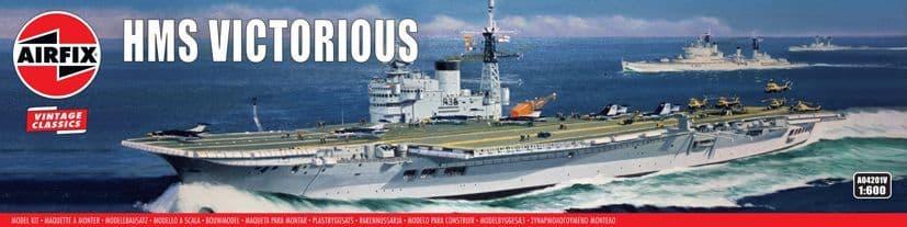 Airfix Vintage Classics 1/600 HMS Victorious # A04201V