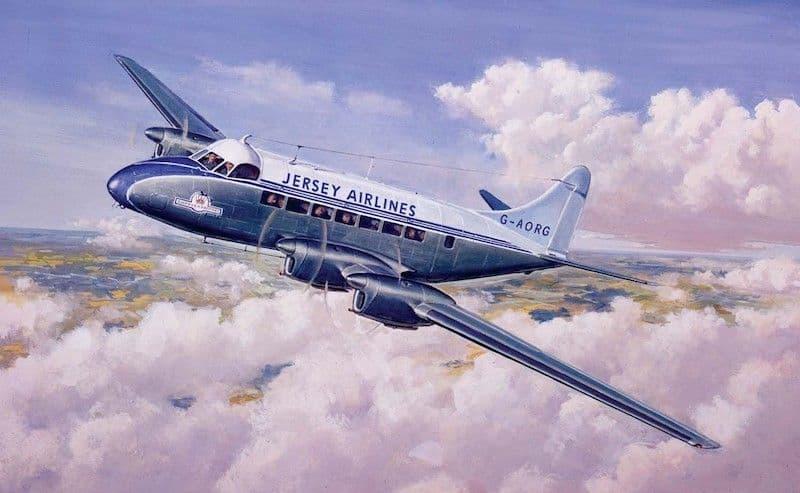 Airfix Vintage Classics 1/72 de Havilland Heron Mk.II # A03001V
