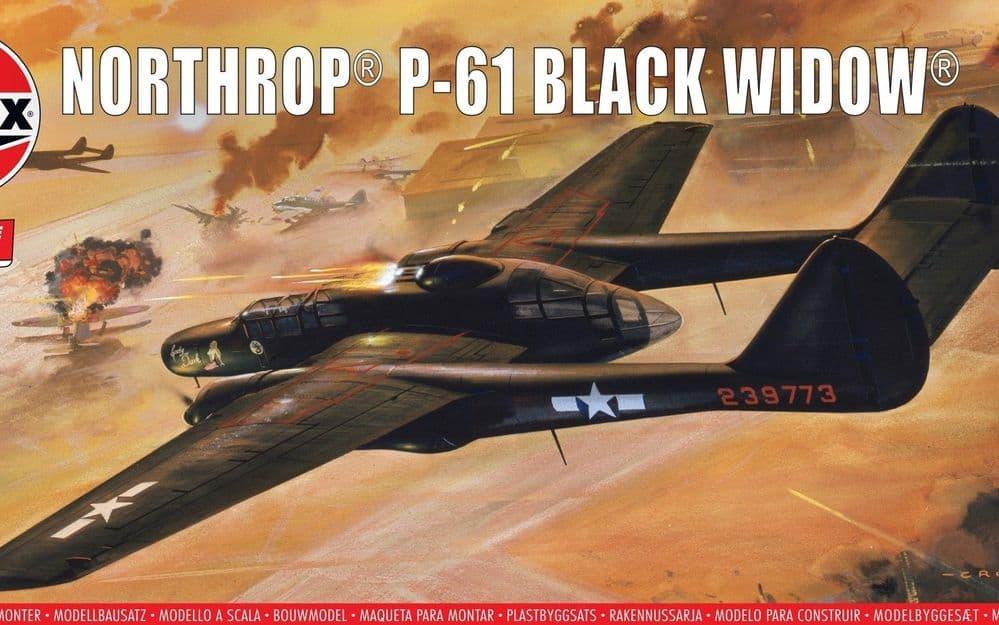 Airfix Vintage Classics 1/72 Northrop P-61 Black Widow # A04006V