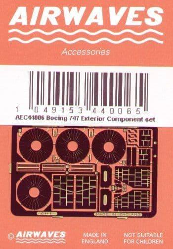 "Airwaves 1/144 Boeing 747 ""Jumbo"" Exterior # AEC44006"