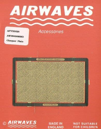Airwaves 1/35 Chequer Plate Universal # AEC35028