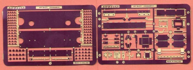 Airwaves 1/35 Crusader III Detailing Set # AEC35077
