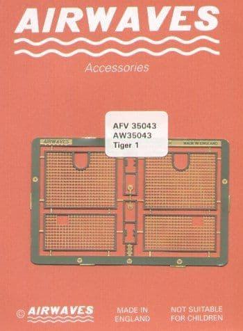 Airwaves 1/35 Pz.Kpfw.VI Tiger I/Sturmtiger 38cm Engine Grilles # AEC35043