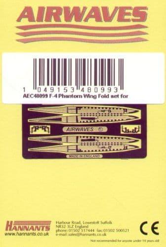 Airwaves 1/48 McDonnell F-4 Phantom Wingfold Set # AEC48099