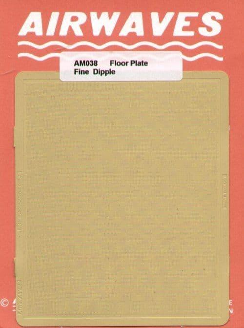 Airwaves 1/72 Floor Plate, Fine dimple pattern # AEM038