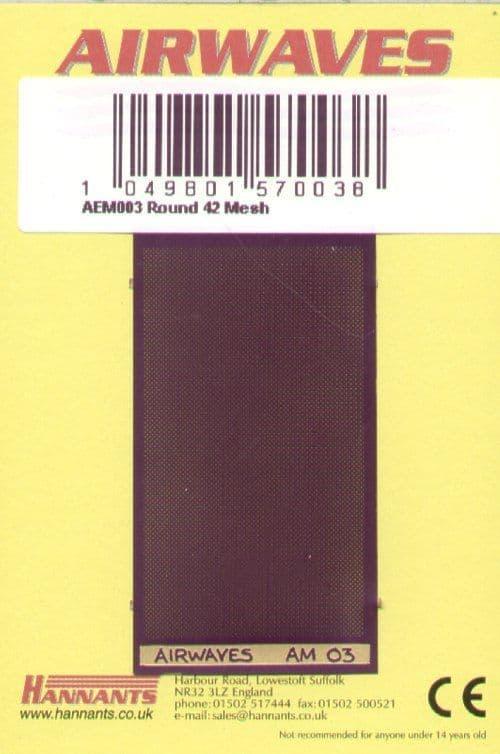 Airwaves - Round 42 Mesh # AEM003