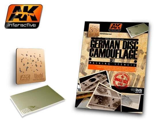 AK Interactive 1/48 German Disc Camouflage Set # AK158