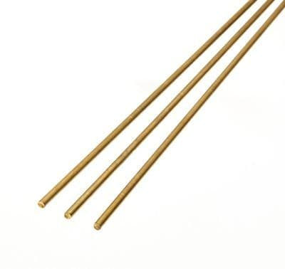 Albion Alloys - 305mm x 0.45mm Brass Rod (BR1M) (10 pieces) # BW045