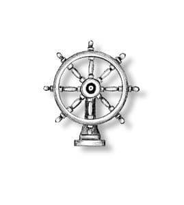 Amati - Ships Wheel Bronze 30mm # AM435030