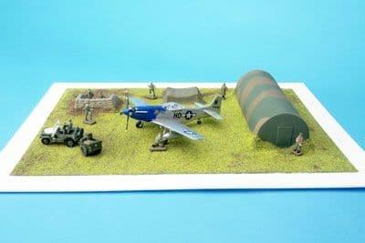 Amera Plastic Mouldings 1/72 & 1/76 Airfield & Nissen Hut # S221