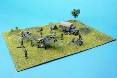 Amera Plastic Mouldings 1/72 & 1/76 Normandy Airfield # S220
