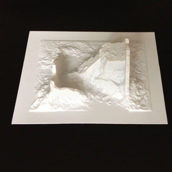 Amera Plastic Mouldings 1/72 & 1/76 Shelled Building Type B # A126