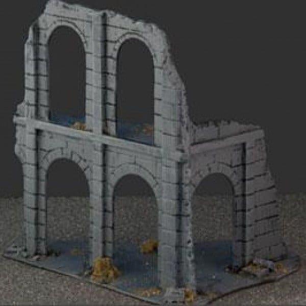 Amera Plastic Mouldings 28mm Building Ruins # F224