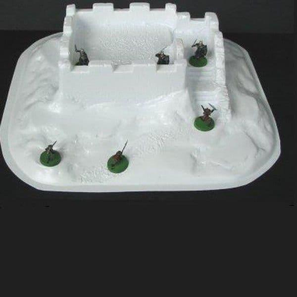 Amera Plastic Mouldings 28mm Castle Keep # F214