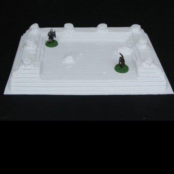 Amera Plastic Mouldings 28mm Temple Ruins # F218
