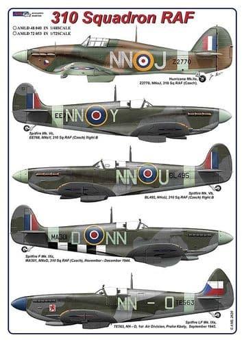 AML 1/72 310 Squadron RAF # D72053