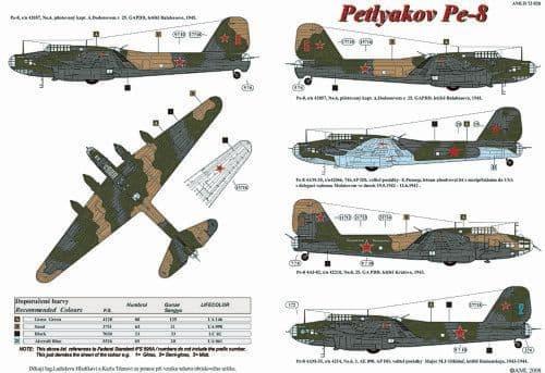 AML 1/72 Petlyakov Pe-8 # D72028