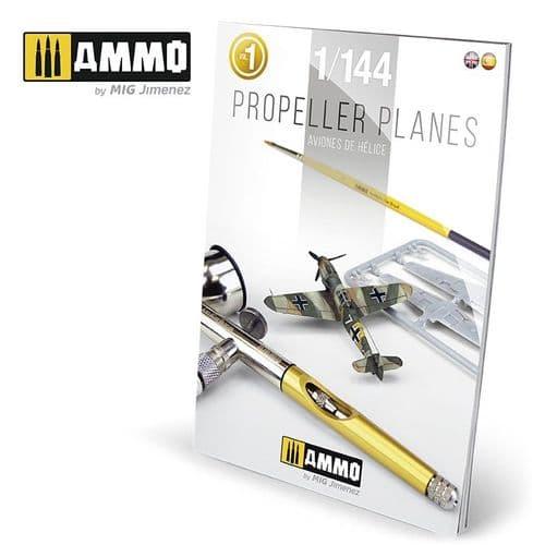 Ammo by Mig - 1/144 Propeller Planes Vol. 1 English & Spanish # MIG-6144