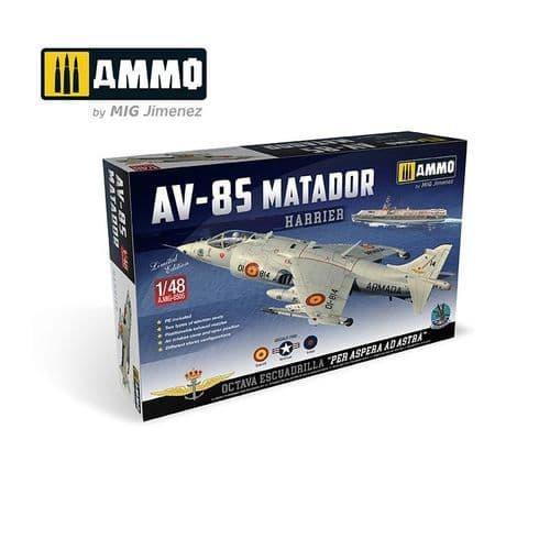Ammo by Mig 1/48 Harrier AV-85 Matador Limited Edition # MIG-8505