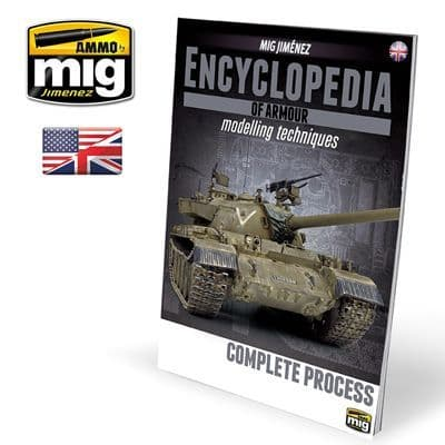 Ammo by Mig - Encyclopedia of Armour Modelling Techniques Complete Process # MIG-6155
