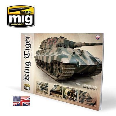 Ammo by Mig - King Tiger Visual Guide # MIG-6022